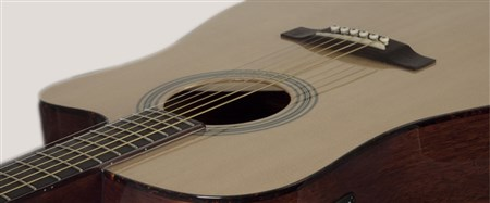 Recording King RD-06-CE Cutaway Electro Acoustic Guitar- Image 4