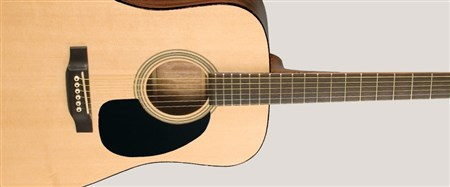 Recording King RD-07 Dreadnought Acoustic Guitar- Image 3