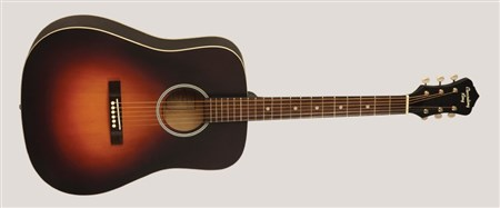 Recording King RDH-05 Solid Top Dreadnought Acoustic Guitar