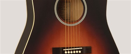 Recording King RDH-05 Solid Top Dreadnought Acoustic Guitar- Image 1
