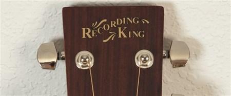 Recording King ROM-06-CFE4 OM Cutaway, Fishman Pickup- Image 1