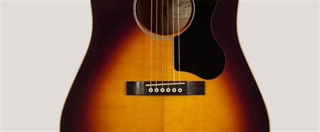 Recording King RAJ-126-SN Acoustic Guitar (Century Jubilee Series), Sunburst- Image 1