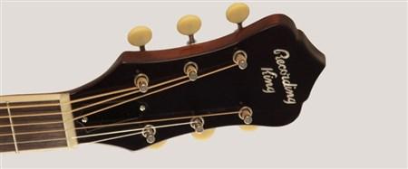 Recording King RAJ-126-SN Acoustic Guitar (Century Jubilee Series), Sunburst- Image 2