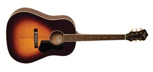 Recording King RAJ-126-SN Acoustic Guitar (Century Jubilee Series), Sunburst