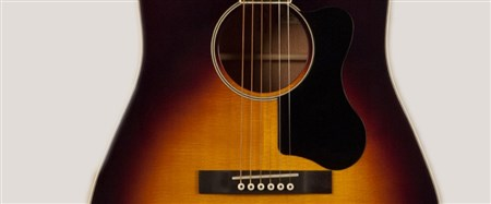 Recording King RAJ-122-SN Slope Shoulder 12th Fret Guitar, Mahogany, Sunburst- Image 4