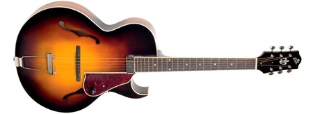 The Loar LH-650-VS Archtop Guitar - Vintage Sunburst