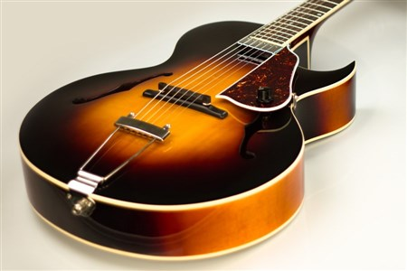 The Loar LH-650-VS Archtop Guitar - Vintage Sunburst- Image 6