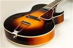 The Loar LH-650-VS Archtop Guitar - Vintage Sunburst- Image 3