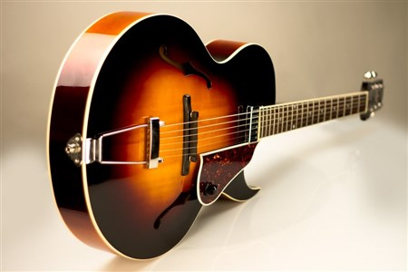 The Loar LH-650-VS Archtop Guitar - Vintage Sunburst- Image 1