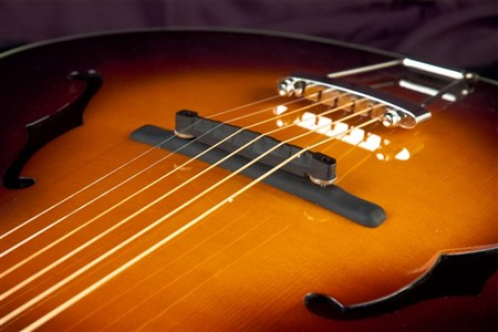The Loar LH-700-VS Archtop Guitar - Vintage Sunburst- Image 4