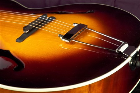 The Loar LH-700-VS Archtop Guitar - Vintage Sunburst- Image 1