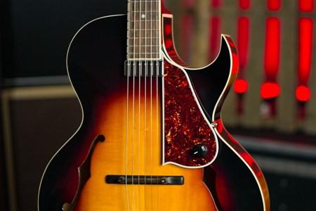The Loar LH-350 Archtop Guitar - Vintage Sunburst- Image 1