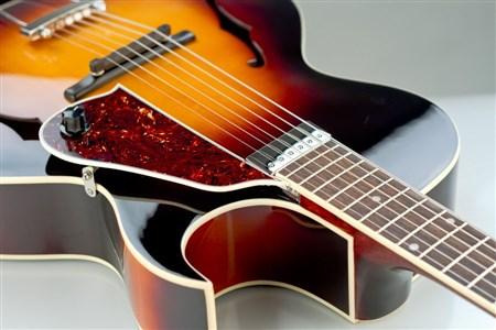 The Loar LH-350 Archtop Guitar - Vintage Sunburst- Image 3