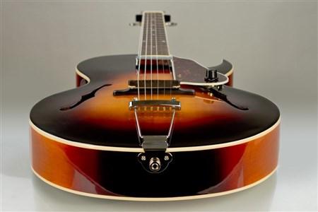 The Loar LH-350 Archtop Guitar - Vintage Sunburst- Image 5