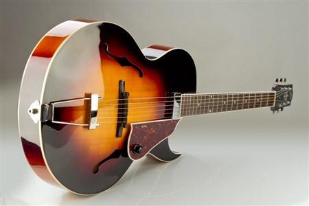 The Loar LH-350 Archtop Guitar - Vintage Sunburst- Image 7