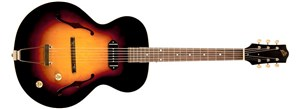 The Loar LH-301T-VS Thinbody Archtop Guitar - Vintage Sunburst