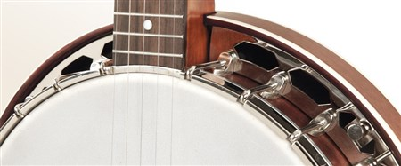 Recording King RK-R15-BR Resonator Banjo- Image 1