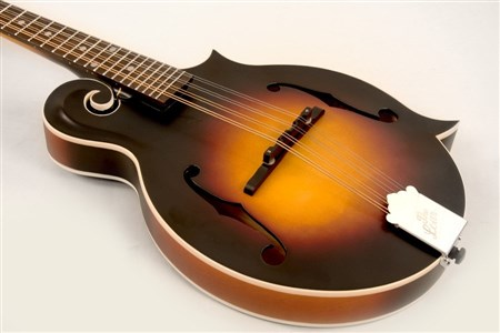 The Loar LM-370-VSM F-Model Mandolin, Satin Vintage Sunburst- Image 2