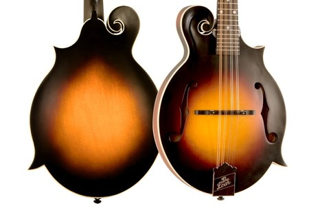 The Loar LM-370-VSM F-Model Mandolin, Satin Vintage Sunburst- Image 1