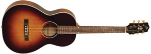 The Loar LO-215-SN The Loar Flat Top O Body Guitar, Maple, Sunburst