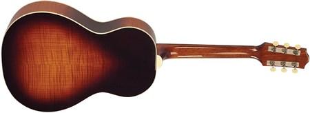 The Loar LO-215-SN The Loar Flat Top O Body Guitar, Maple, Sunburst- Image 4