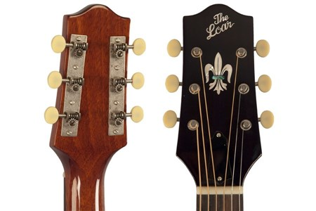 The Loar LO-215-SN The Loar Flat Top O Body Guitar, Maple, Sunburst- Image 5