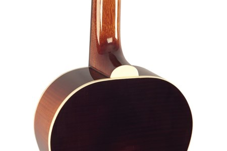 The Loar LO-215-SN The Loar Flat Top O Body Guitar, Maple, Sunburst- Image 7