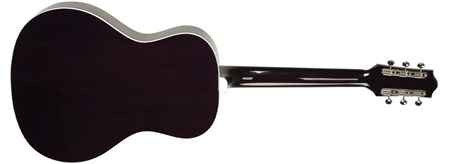 The Loar LO-16 Flat Top Guitar, Black- Image 2