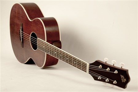 The Loar LH-204-BR Flat Top Guitar- Image 3