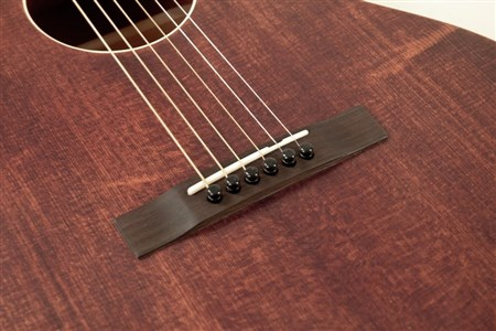 The Loar LH-204-BR Flat Top Guitar- Image 6