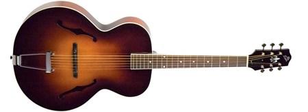 The Loar LH-600 Archtop Guitar, Sunburst- Image 2