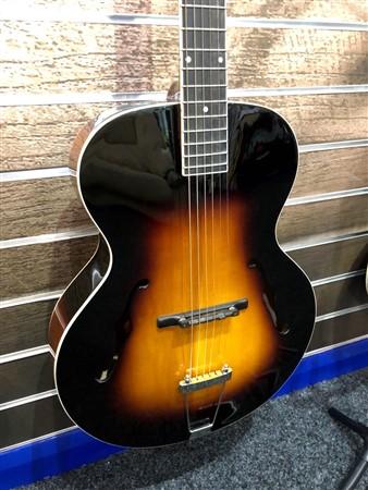 The Loar LH-600 Archtop Guitar, Sunburst- Image 3