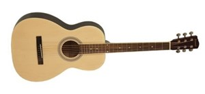 Savannah SGP-12 Parlour Size Acoustic Guitar, Natural