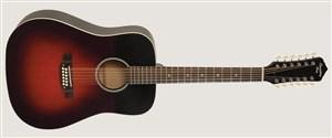 Recording King RDH-05-12 Solid Top Dreadnought 12 String Guitar