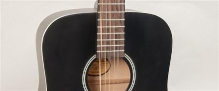 Recording King RDH-05-12 Solid Top Dreadnought 12 String Guitar- Image 4