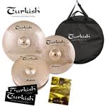 Turkish ZilZen Cymbals M-Set 2- Image 3