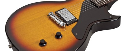 AXL USA Torino Classic Electric Guitar, Sunburst- Image 4