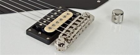 AXL USA Torino Electric Guitar, Metallic White- Image 1