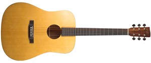 Recording King EzTone RD-A3M Solid Top Dreadnought, Satin