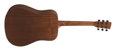 Recording King EzTone RD-A3M Solid Top Dreadnought, Satin- Image 3