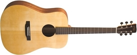 Recording King EzTone RD-A3M Solid Top Dreadnought, Satin- Image 4