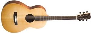 Recording King EzTone RP-A3M Solid Top Single-0 Shape Guitar, Satin