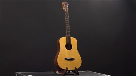 Recording King EzTone RD-A3MQ Solid Top Mini-Dreadnought, Satin,