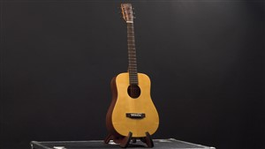 Recording King EzTone RD-A3MQ Solid Top Mini-Dreadnought, Satin