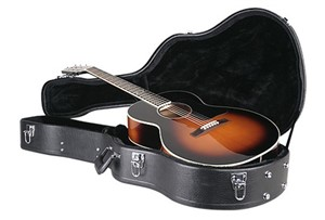 Hardshell Acoustic Guitar Case, 0-Size