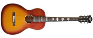 Recording King Dirty 30s Series 7 0 Size Electro-Acoustic Parlour Guitar, Tobacco Sunburst