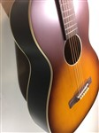 Recording King Dirty 30s Series 9 O Size Solid Top Parlour Acoustic Guitar, Tobacco Sunburst- Image 4