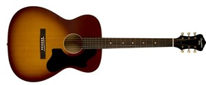 Recording King Dirty 30s Series 9 OOO Shape, Solid Top Guitar, Tobacco Sunburst