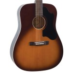 Recording King Dirty 30s Series 9 Dreadnought Guitar, Solid Top, Tobacco Sunburst- Image 2
