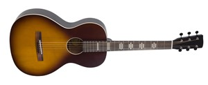 Recording King Dirty 30s RPH-P2-TS Parlour Guitar, Tobacco Sunburst